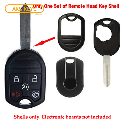 2007 - 2015 Ford Lincoln Remote Key Shell 5B