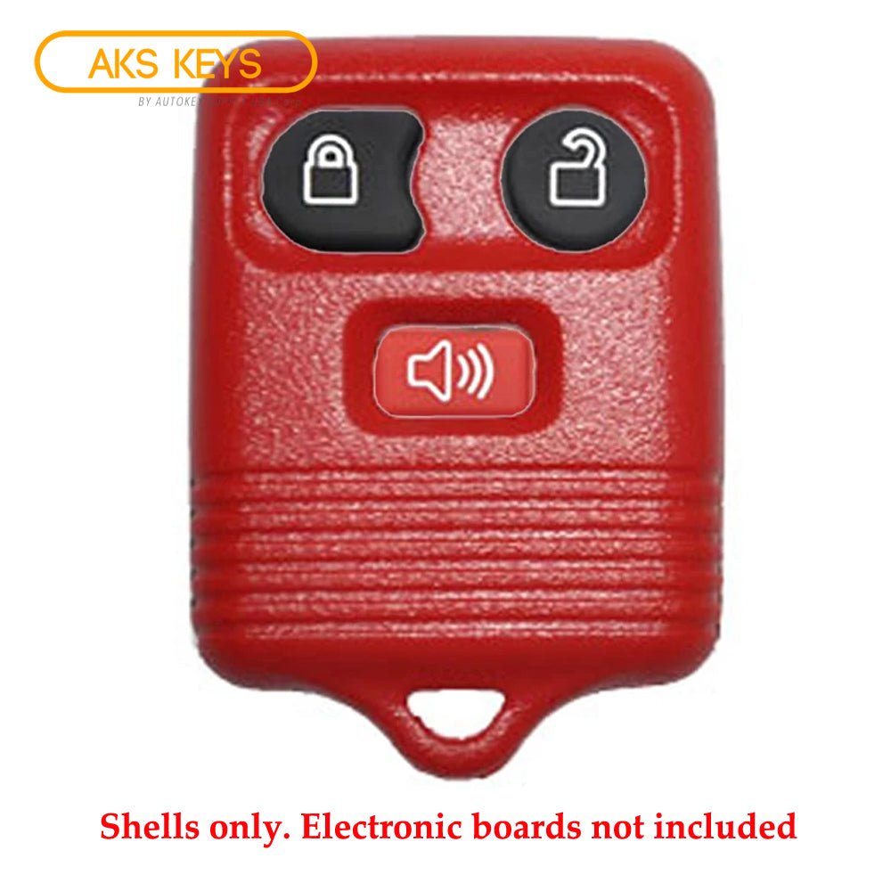 1998 - 2011 Red Ford Remote Shell