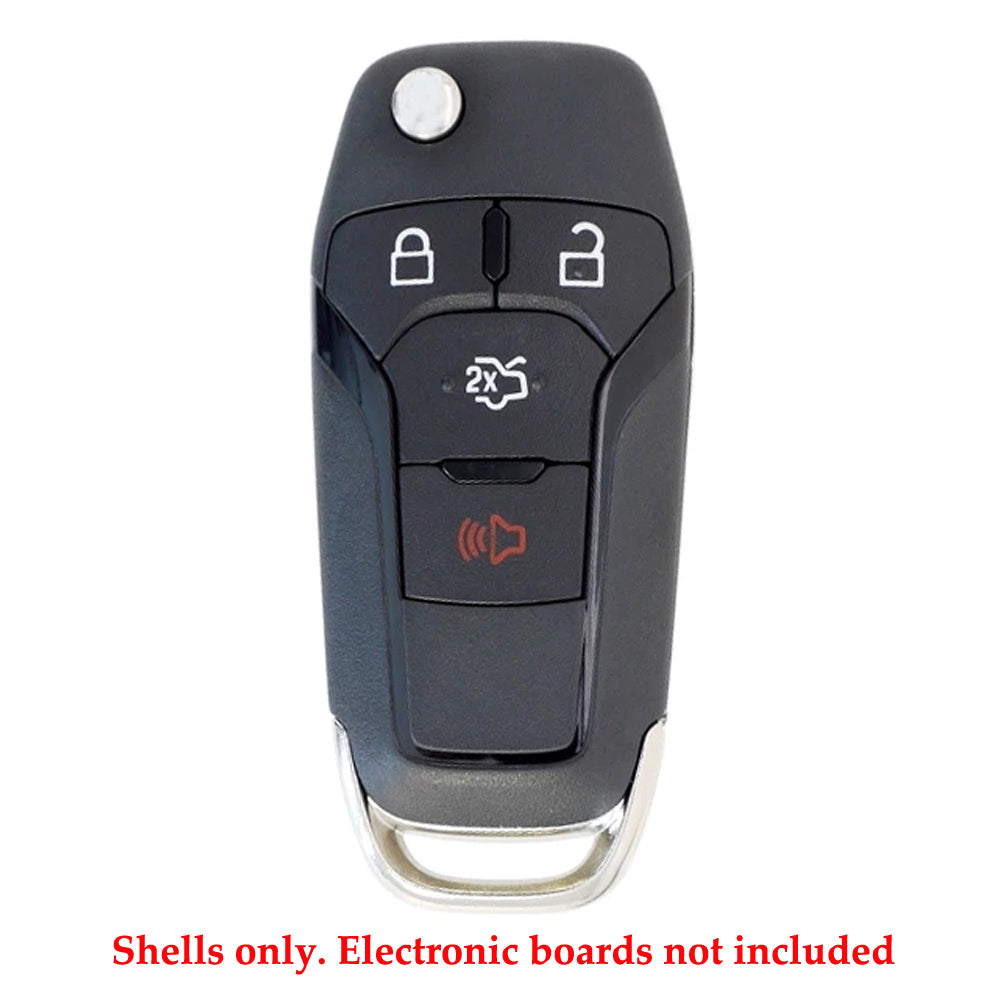 2013 - 2016 Ford Fusion Remote Flip Key Shell  forFCC# N5F-A08TAA