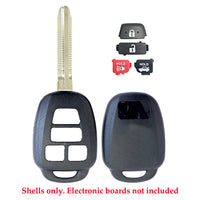 2012 - 2015 Toyota Remote Key Shell 4B