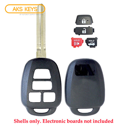 2012 - 2019 Toyota Scion Remote Key Shell 4B