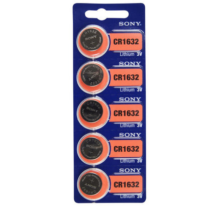 SONY Batteries (CR1616 / CR1620 / CR1632 / CR2016 / CR2025 / CR2032 / CR2430 / CR2450)
