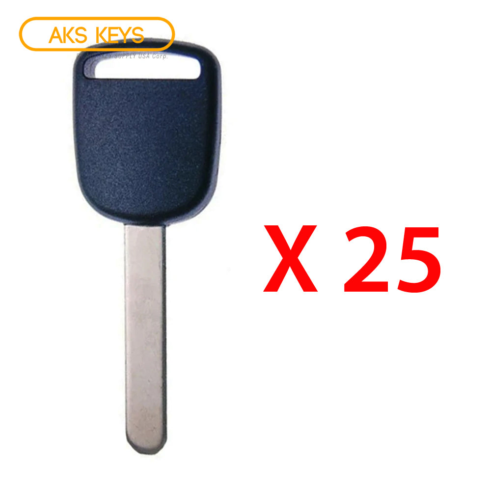 2003 - 2016 Honda Acura Transponder Key -  ID46 Chip
