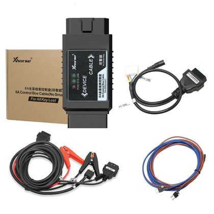 Xhorse 8A Control Box Cable Non-Smart Key Adapter for All Keys Lost for Toyota