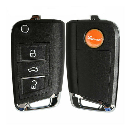 Xhorse for VW Remote Key MQB Style 3 Buttons for VVDI Key Tool - XKMQB1EN