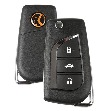 Xhorse Toyota Universal Remote Key 3 Buttons X008 English version for VVDI Key Tool