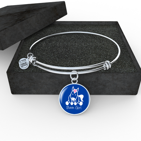 Royal Blue Bangle-Bracelet