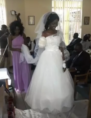 COUPLE WEDS DAYS AFTER CROCODILE BITES OFF BRIDE'S ARM