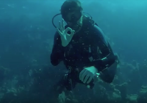 SSI certified Warfighter Scuba demonstrates OMNA Marine Tourniquet