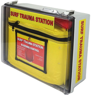 Surf First Aid Kits - designed for public access for beaches, marinas, and coastal parks.