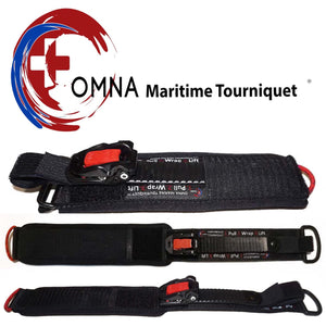 Maritime Tourniquets - Amphibious, Marine, & Mini - Ocean Rated, Water Ready, Always Marine-Grade - Perfect for diving, and boating.