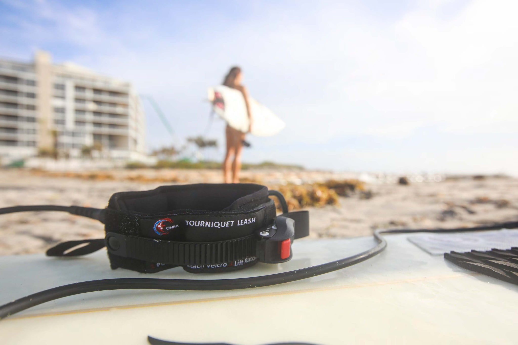 OMNA TOURNIQUET SURFBOARD LEASH
