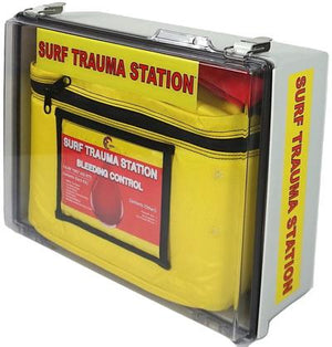 Surf Life Saving First Aid & Trauma Kits. Made for beaches, boating, marinas, lifeguards, and water use.