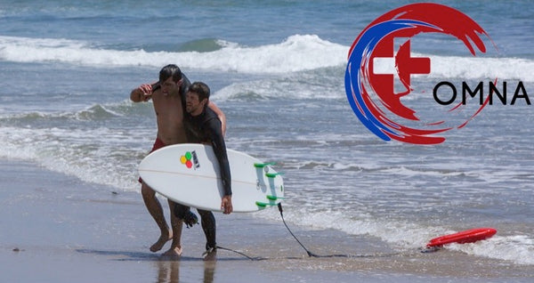 Lifeguard Recues Surfer from Shark Attack with OMNA Tourniquet