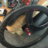 CUSTOMER ZIPP RIMS WHITE INDUSTRIES KING HUBS SAPIM SPOKES - Côte Wheels  - 7