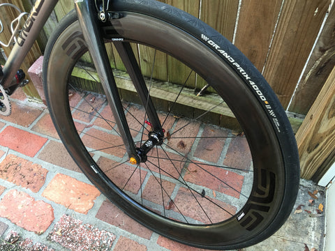Enve carbon rims 3.4, 4.5, 7.8 with White or King hubs - Côte Wheels  - 1