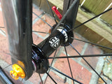 CUSTOMER ZIPP RIMS WHITE INDUSTRIES KING HUBS SAPIM SPOKES - Côte Wheels  - 8