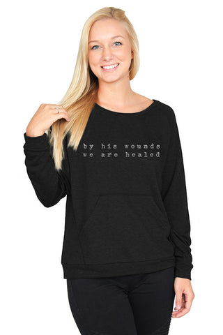 By His Wounds: Sweatshirt
