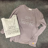 Faith Over Everything Long Sleeve