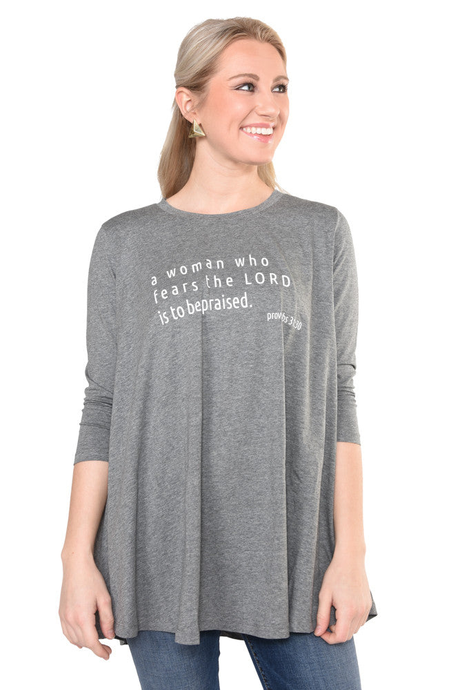 Proverbs 31:30- Swing Tee