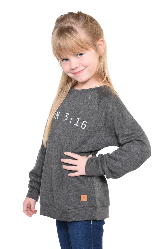 John 3:16 Sweatshirt - Youth