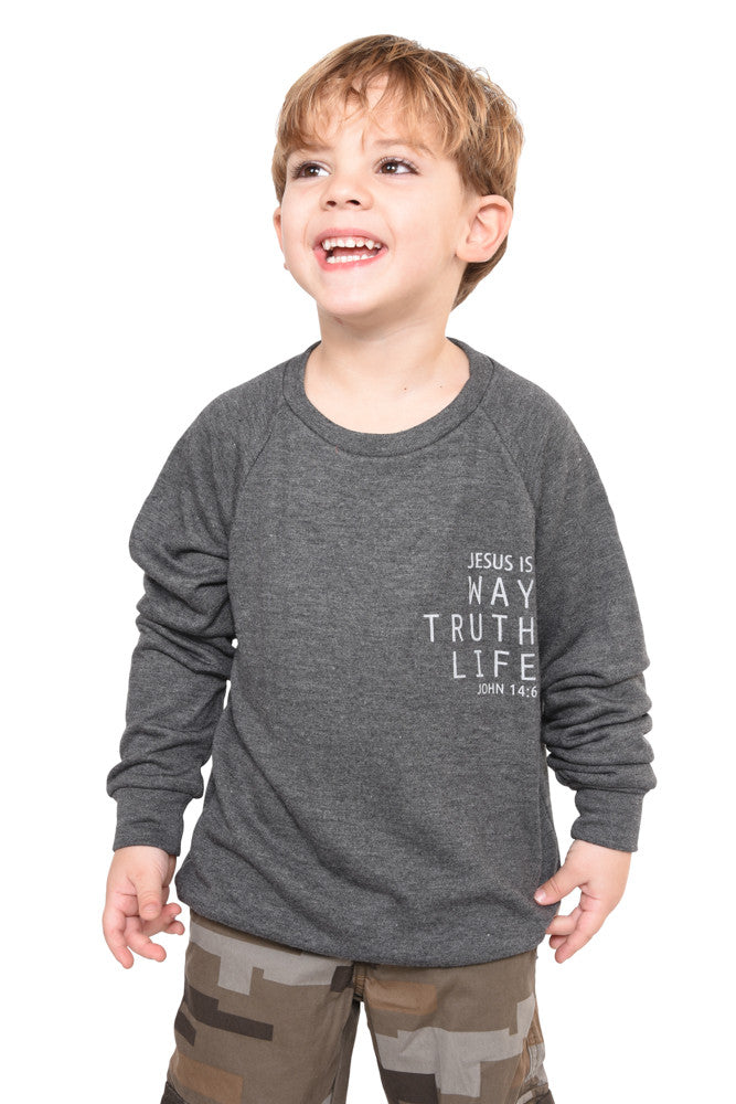John 14:6 Sweatshirt- Youth