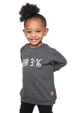 John 3:16 Sweatshirt- Toddler