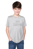 Faith Over Everything Short Sleeve Shirt- Youth