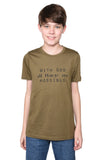 With God Short Sleeve Shirt- Youth