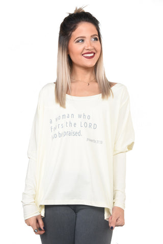 Proverbs 31:30- Long Sleeve