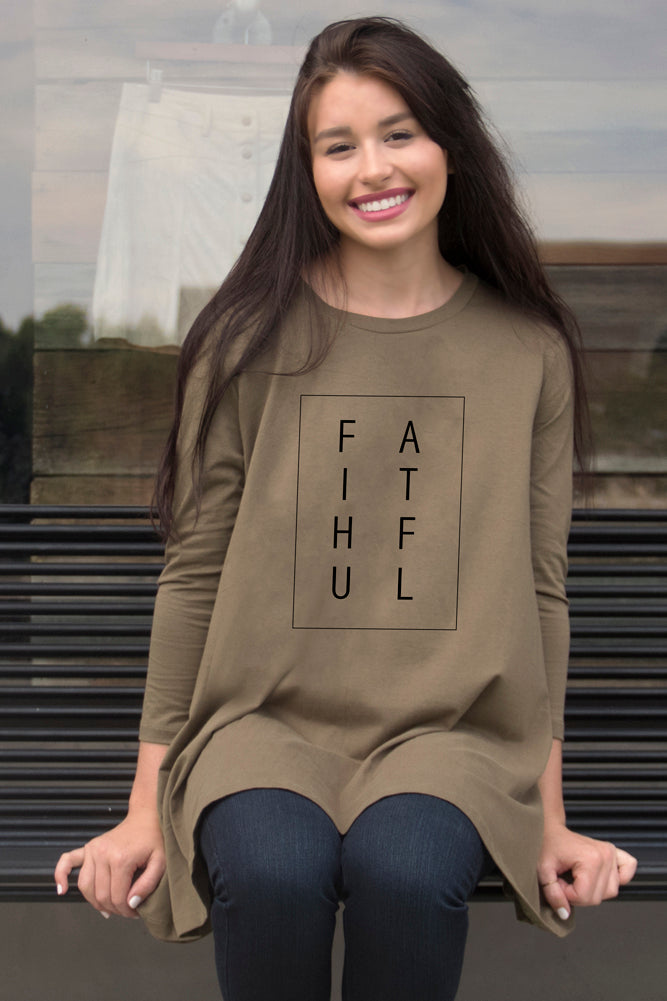 FAITHFUL Swing Tunic