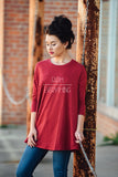 Faith Over Everything Swing Tunic