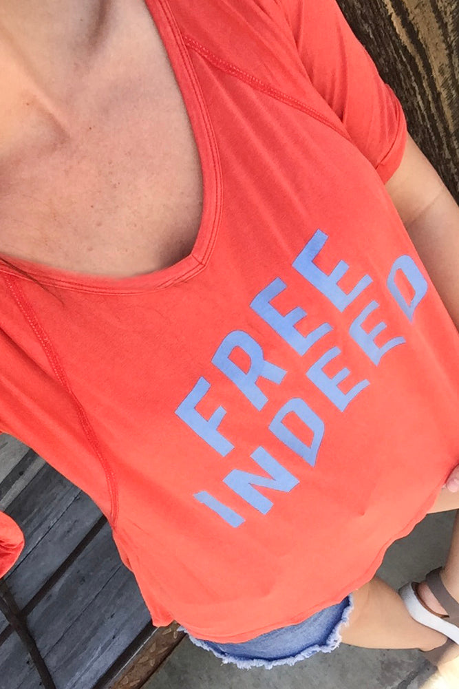 FREE INDEED Swing Tee