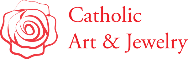 Catholic Art and Jewelry's logo.