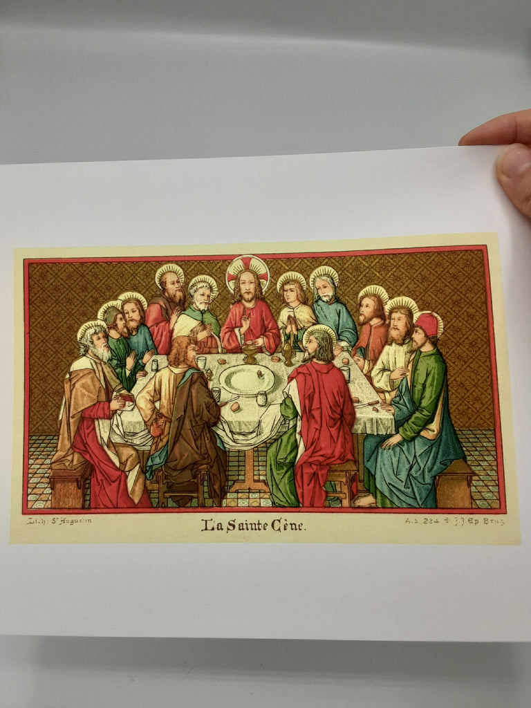 The Last Supper – La Sainte Cène –  Print