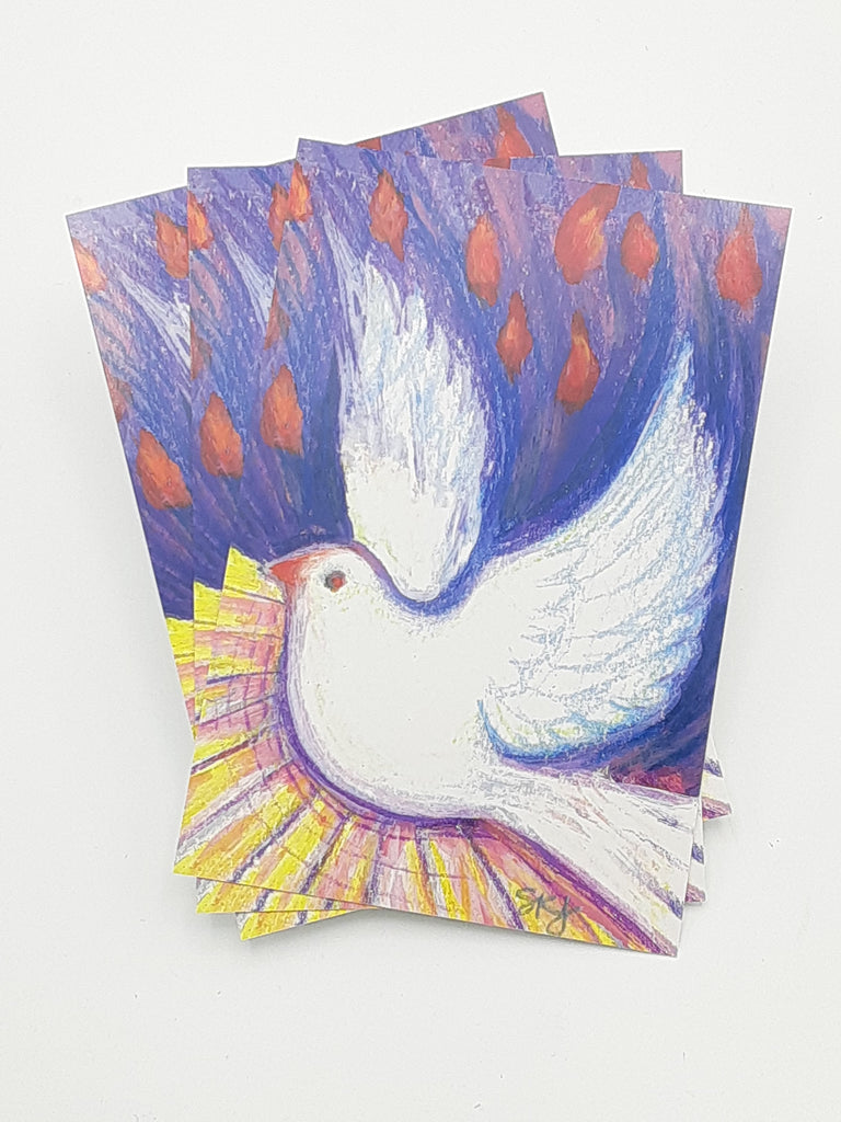 Holy Spirit Dove Postcards