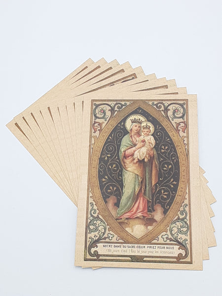 Our Lady of the Sacred Heart Postcard