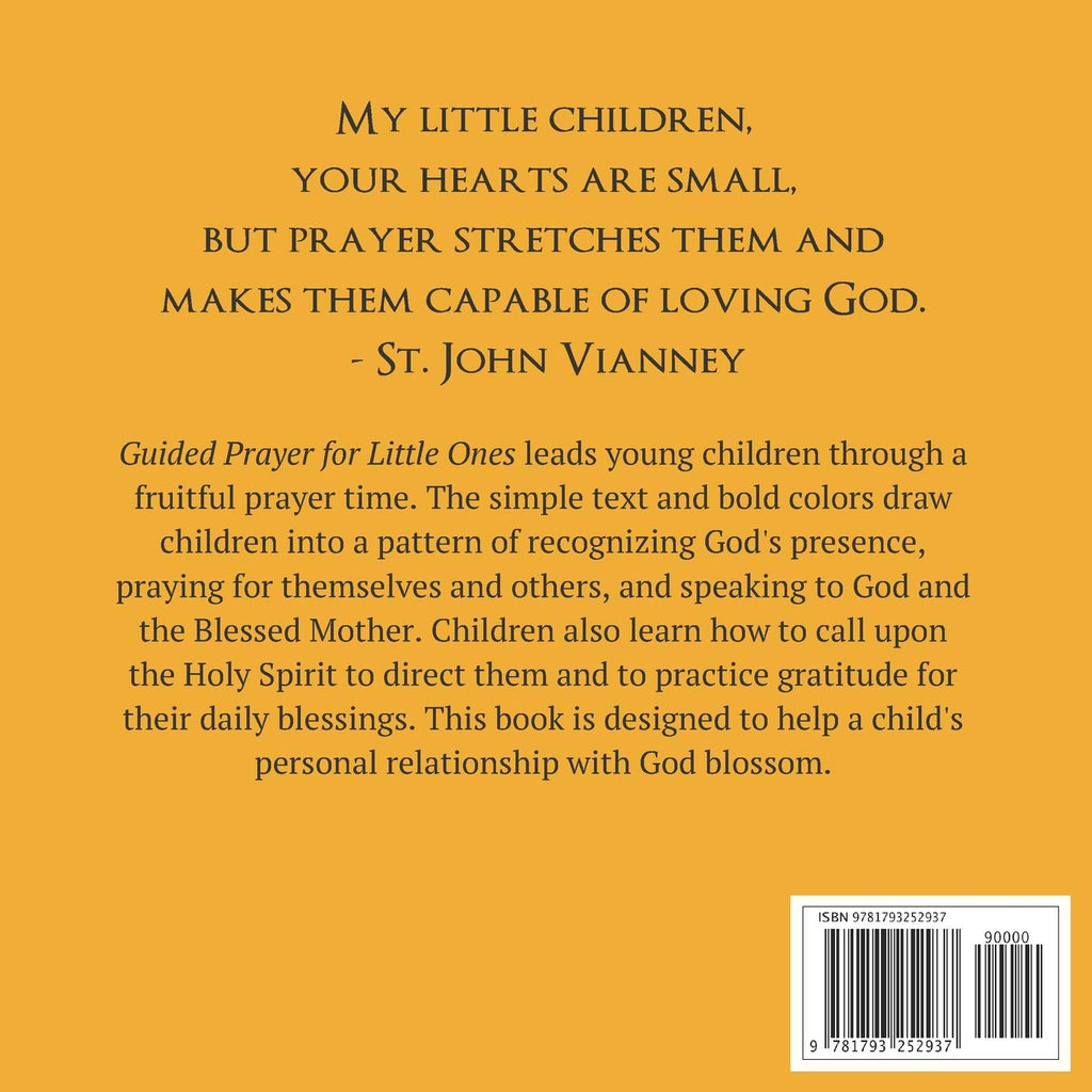Guided Prayer for Little Ones Book