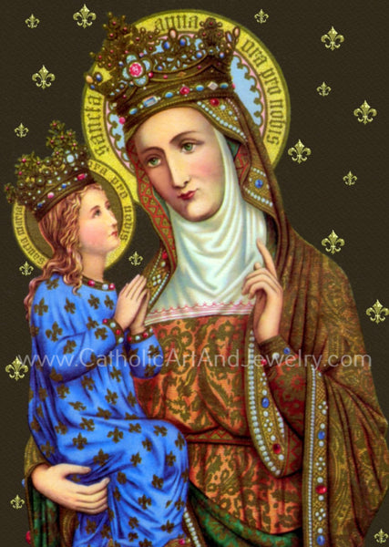 Saint Anne with Mary – 8.5x11""