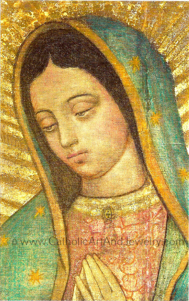 Our Lady of Guadalupe – Close-up – 8.5x11""