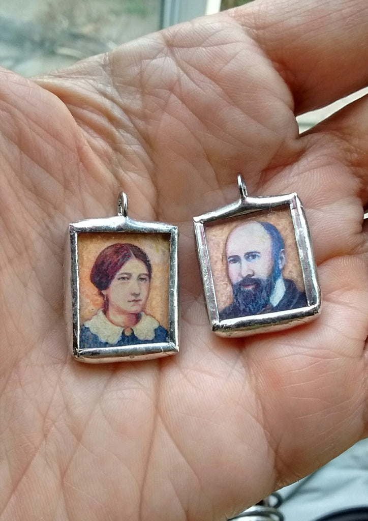 Saints Zelie and Louis Pendant - New!