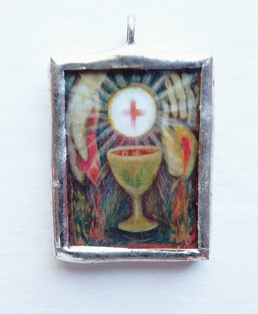 Eucharist Pendant or Medal