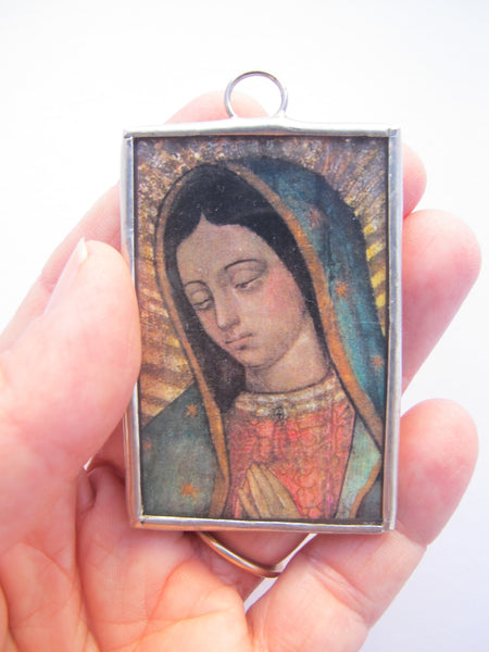 Juan Diego's Tilma Our Lady of Guadalupe Ornament