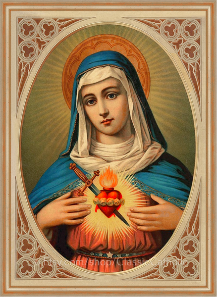 Immaculate Heart of Mary – 8.5x11""