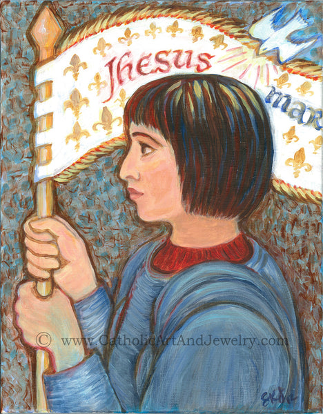 Joan of Arc Fine Art Print