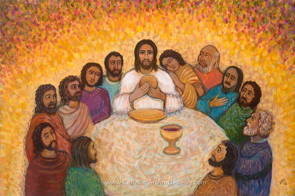 The Last Supper Painting - New!