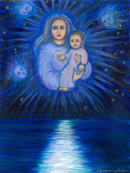 Stella Maris (Star of the Sea) Art Print