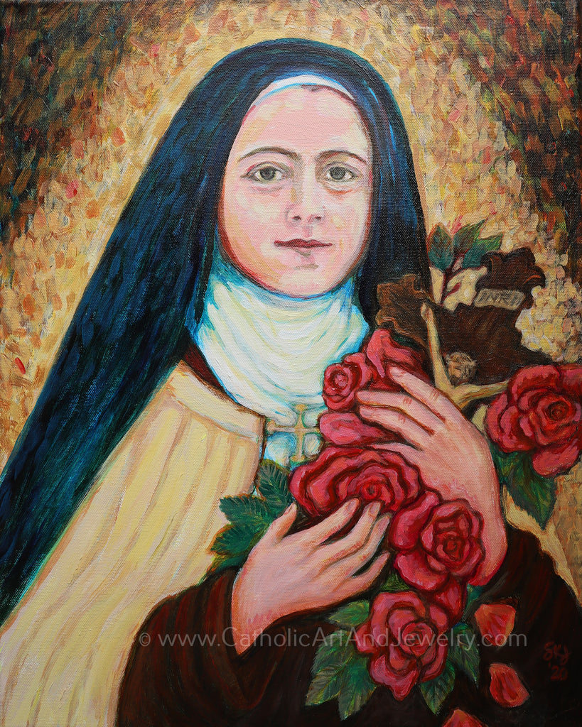 St. Therese of Lisieux Catholic ARt