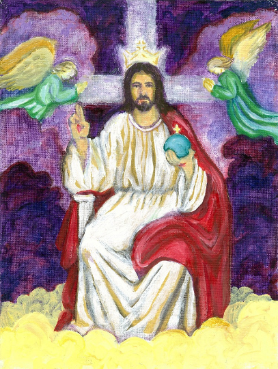 Christ the King Catholic Fine Art Print