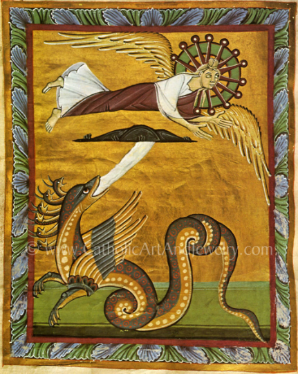 "Hildegard of Bingen ""Angel and Dragon"""